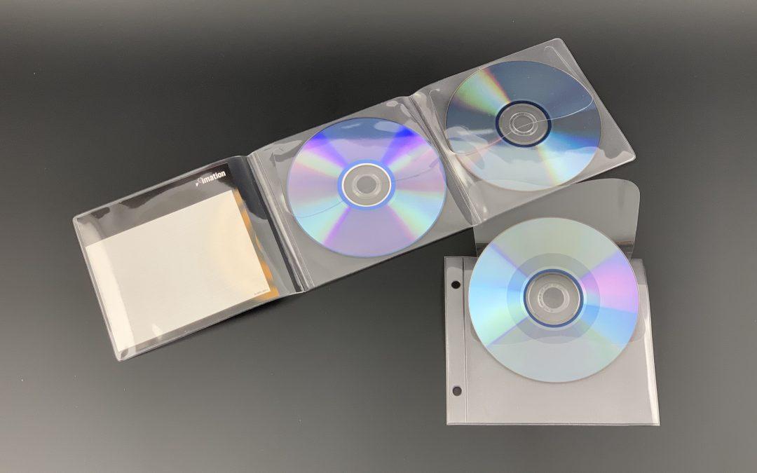 CD-etuis met klep